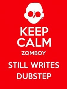keep calm zomboy