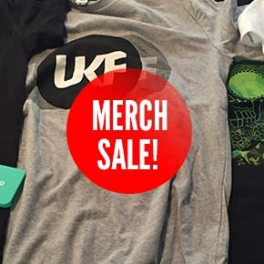 merch sale