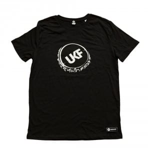 UKF Bottle Caps tee black