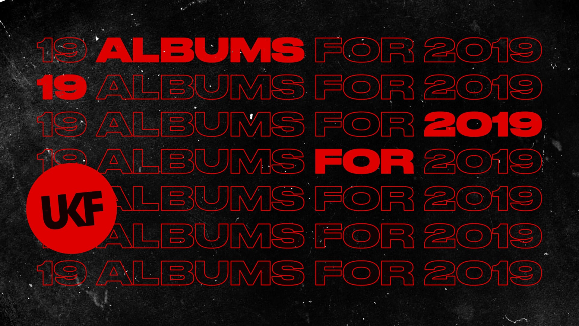 19 For 2019 Albums