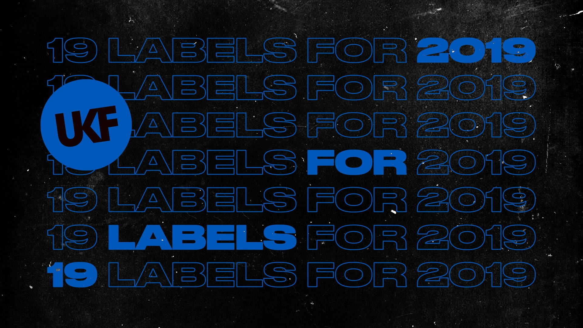 19 For 2019 Labels